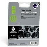 (1003503) Картридж струйный Cactus CS-LC1100BK черный для Brother DCP-385c/ 6690cw/ MFC-990/ 5890 (16ml)