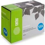 (3330738)  Картридж лазерный CACTUS CS-CE255X черный для принтеров HP LaserJet P3015, 12500 стр.
