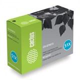 (3330746)  Картридж лазерный CACTUS CS-Q7551X черный для принтеров HP Laser Jet P3005/  M3027 mfp/  M3035 mfp. 13 000 стр.