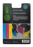 (1004533) Заправочный набор Cactus CS-RK-C9352 цветной (3x30мл) HP DeskJet 3920/3940/D1360/D1460/D1470/D1560