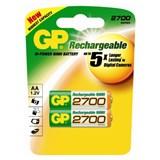 (39726) Аккумулятор GP 270AAHC AA NiMH 2700mAh (2шт)