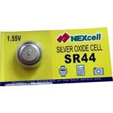 (102916) Батарейка Nexcell серебряно-цинковая 1.55v SR44 (1шт.), 11.6 x 5.4 мм, 190 mAh