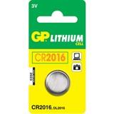 (108038) Батарейка GP lithium 3v CR2016 (1шт.)