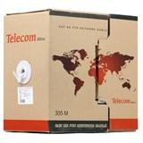 (80513)  Кабель витая пара Telecom Ultra Base UTP Cat.5E , 2 пары (бухта 305м)