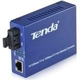 (119109) Сетевой коммутатор TENDA TER850S, медиаконвертор, мультимод, Тип SC, 2х100Мбит/с RJ45, 1хTX и 1RX, до 2-км