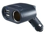 (1004617) Разветвитель розетки прикуривателя Wiiix TR-04U2 (2 гнезда + 2xUSB 2.1A+1A)