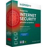 (1001237) Программный продукт: Kaspersky Internet Security Multi-Device Russian Edition. 3-Device 1 year Base Box