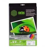(1001863) Этикетки Cactus white А4 52.5x21.2мм 50 sheets