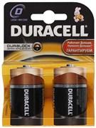 (1003636) Батарея Duracell Basic LR20-2BL D 2шт