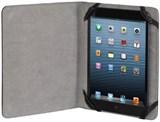 (1002153) Чехол Hama для планшетов 7'' Piscine кожзам черный (H-108270)