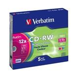 (13459) CD-RW Verbatim 700Mb 8-12x 80мин (43167) Slim Case