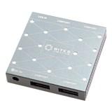 (118901) Концентратор 5bites HB34-302PGY, 4 x USB3.0, внешний блок питания, алюминий, Серебряный