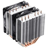 (1004771) Вентилятор Deepcool NEPTWIN V2 Soc-AMD/1150/1155/1156/2011/ 4pin 26-31dB Al+Cu 150W 1109g винты LED