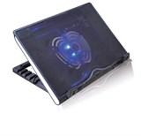 """(1003381) Подставка для ноутбука CROWN CMLS-925 (Black) 15.6"""", 1*Fan,blue light,2*USB"""