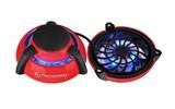 (1004680) Портативаня подставка для ноутбука Thermaltake GOrb II red 70mm*2 FAN/blue LED/red
