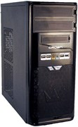 (1003732) Корпус Miditower CROWN CMC-SM603 USB3.0*1шт. USB2.0*3шт.  black/silver ATX w/o