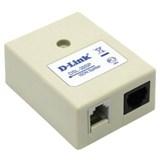 (65091) [d-link]  D-Link DSL-39SP/ RS ADSL Annex B сплиттер 1xRJ-11 in, 2xRJ-11 out [Модемы D-Link]