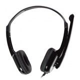 (1110103) Гарнитура CBR Headset CHP 540M {3.5mmJack/ 20-20000Hz/ 100дб/ 2м/ черный+серебр}