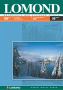 (1001172) Lomond Бумага матовая односторонняя, А4, 180 г/ м2, 50 листов