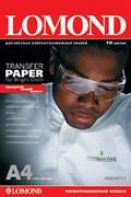 (22143)  Фотобумага Lomond Термотрансфер А4/ 140/ 10 струйная печать для светлых тканей (0808411)