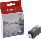 (62109) Картридж струйный Canon PGI-520BK 2932B004 черный для принтеров Canon PIXMA IP3600, IP4600, MP540, MP620, MP630, MP980