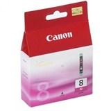 (29551)  Картридж струйный Canon CLI-8M пурпурный для принтеров Canon PIXMA MP800/ MP500/ iP6600D/ iP5200/ iP5200R/ iP4200 .