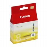 (29554)  Картридж струйный Canon CLI-8Y желтый для принтеров Canon PIXMA MP800/ MP500/ iP6600D/ iP5200/ iP5200R/ iP4200 .