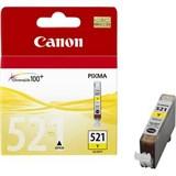 (62286) Картридж струйный Canon CLI-521Y желтый для принтеров Canon PIXMA IP3600/ MP540/ MP620/ IP4600/ MP630/ MP980