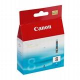 (29550) Картридж струйный Canon CLI-8C голубой для принтеров Canon PIXMA MP800/ MP500/ iP6600D/ iP5200/ iP5200R/ iP4200
