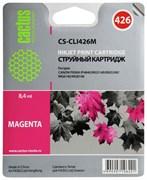 (3330267) Картридж струйный CACTUS CS-CLI426M пурпурный для принтеров Canon PIXMA MG5140/ 5240/ 6140/ 8140; MX884,8.4мл