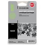 (1001564) Картридж Cactus CS-CLI451BK для Canon MG 6340/ 5440 IP7240 черный