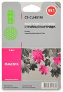 (1001567) Картридж Cactus CS-CLI451M для Canon MG 6340/ 5440 IP7240 пурпурный