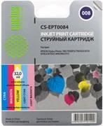 (3330356) Картридж струйный CACTUS CS-EPT0084 цветной для принтеров Epson Stylus Photo 785/  790/  870/  875/  890/  895/  915, 46 мл