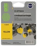 (3330233) Картридж струйный CACTUS CS-EPT0634 желтый для принтеров Epson Stylus C67 Series/  C87 Series/  CX3700/  CX4100/  CX 4700, 8.2 мл.