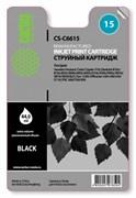 (3330283) Картридж струйный CACTUS №15 черный для принтеров HP DeskJet 810c/ 816c/ 825c/ 840c/ 843c/ 845c/  916c/ 920c/ 940c/ 3810/ 3816/ 3820/ 3822; Fax 1230; OfficeJet v30/ v40/ v45/ 5110;