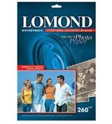(22130) Фотобумага Lomond А4/ 260/ 20 суперглянцевая (1103101)