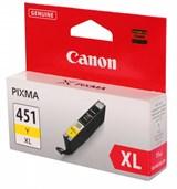 (112536) Картридж Canon CLI-451Y XL (6475B001)