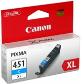 (112534) Картридж Canon CLI-451C XL (6473B001)