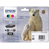 (102890) Картридж Epson C13T26164010 набор из четырех картриджей XP-600/700/800
