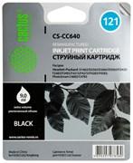 (3330032) Картридж струйный Cactus CS-CC641 №121XL черный (18мл) для HP DJ D1663/D2563/D2663/D5563/F2423/F2483